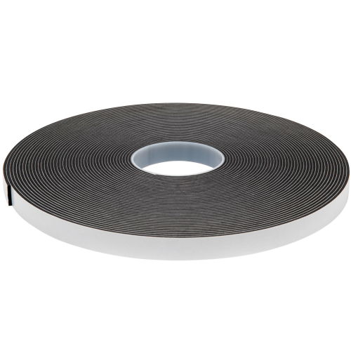 3509 Black Single Sided Foam Tape